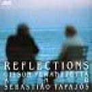gilson peranzzetta and sebastiao tapajos - reflections CD 1991 jvc used