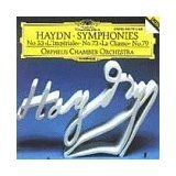 haydn symphonies no. 53, 73, 79 - orpheus chamber orchestra CD 1994 DG BMG Direct used mint