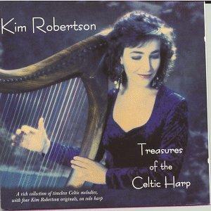 kim robertson - treasures of the celtic harp CD 1995 dargason 16 tracks used mint