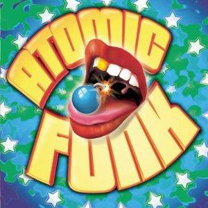 atomic funk - various artists CD 2003 razor & tie 18 tracks used mint