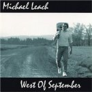 michael leach - west of september CD digital passage 10 tracks used