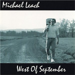 michael leach - west of september CD digital passage 10 tracks used