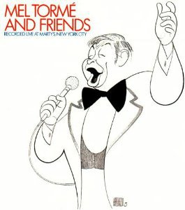 mel torme and friends - recorded live at marty's new york city CD DCC jazz used