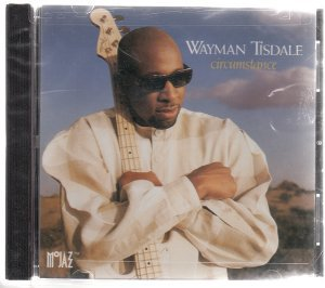 wayman tisdal - circumstance CD 1995 motown 3 tracks used mint