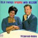 ella fitzgerald - ella swings brightly with nelson CD 1993 verve polygram 15 tracks used mint