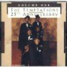 temptations - 25th anniversary volume one CD 1986 motown 17 tracks used mint