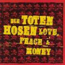 die toten hosen - love peace & money CD 1995 atlantic 15 tracks used mint
