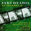 jaki byard - at maybeck CD 1992 concord jazz 7 tracks use mint