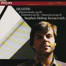 brahms piano works op.116 117 & 119 - stephen bishop kovacevich CD 1985 philips used mint