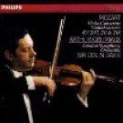 mozart violin concertos kv 207 211 & 218 - arthur grumiaux + LSO + colin davis CD philips