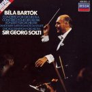bela bartok - concerto for orchestra + dance suite - CSO / solti CD 1982 decca used mint