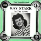 kay starr - in the 1940s CD 1985 hindsight 14 tracks used mint