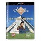 ancient civilizations - fall of the aztec & maya empires DVD 2007 questar 120 minutes used mint