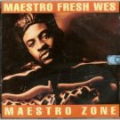 maestro fresh wes - maestro zone CD 1992 polygram 13 tracks used