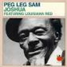 peg leg sam - joshua featuring louisiana red CD 1989 tomato 10 tracks used