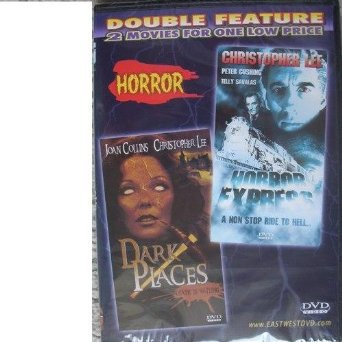 horror express + dark places DVD double feature eastwest 180 mins used