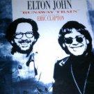 elton john feat eric clapton - runaway train CD maxi single 3 tracks 1992 MCA used mint