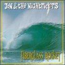 jon & the nightriders - fiberglass rocket CD 1996 atomic beat 16 tracks used mint