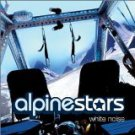 alpinestars - white noise CD 12 tracks + 2 video tracks 2002 astralwerks used