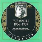 fats waller 1936 - 1937 CD 1995 classics france 23 tracks used mint