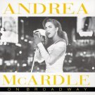 andrea mcardle - on broadway CD 1995 magic venture recording studio 12 tracks used mint
