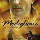 modigliani - andy garcia DVD 2004 visual entertainment used mint