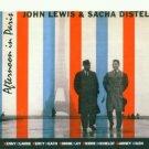 john lewis & sacha distel - afternoon in paris CD 1999 koch jazz 6 tracks used mint