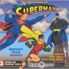 adventures of superman CD 2003 DC comics radio spirits used mint