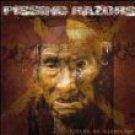 pissing razors - fields of disbelief CD 2000 modern music edition metro 13 tracks used mint