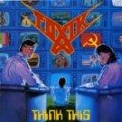 toxik - think this CD 1989 roadrunner metal mind road racer 14 tracks used mint