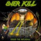 over kill - under the influence CD 1988 megaforce atlantic 9 tracks used mint