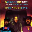 dread flimstone & the modern tone age family - from the ghetto CD 1991 scotti bros 10 tracks used