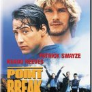 point break - patrick swayze + keanu reeves DVD 2001 20th century fox enhanced widescreen new