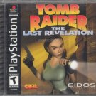 tomb raider the last revelation - playstation 1999 eidos used mint