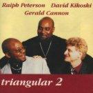 ralph peterson david kikoski gerald cannon - triangular 2 CD 2000 sirocco