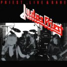 judas priest - priest live & rare CD epic 10 tracks used mint