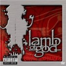 lamb of god - terror and hubris DVD in jewel case package 2003 prosthetic used mint
