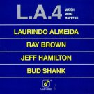 L.A. 4 - whatch what happens CD concord jazz 1978 interpress germany 7 tracks used mint
