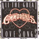 commodores - all the great love songs CD 1984 motown 14 tracks used mint