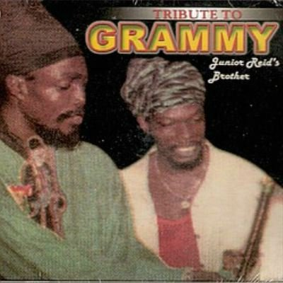 tribute to grammy - junior reid's brother CD vp reggae 14 tracks used mint