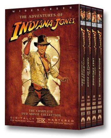 adventures of indiana jones - complete DVD movie collection widescreen DVD 4-discs 2003 paramount