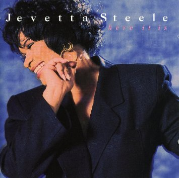 javetta steele - here it is CD 1993 sony 10 tracks used mint