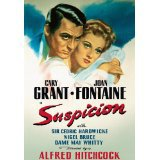 suspicion - cary grant + joan fontaine DVD 1941 RKO 2004 turner B&W 99 mins new