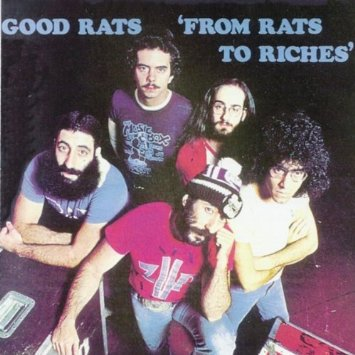 good rats - from rats to riches CD 1997 uncle rat music 10 tracks used mint