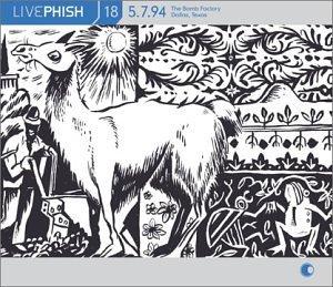 phish - Live Vol. 18 5/7/94 Bomb Factory Dallas Texas 3CDs 2003 elektra