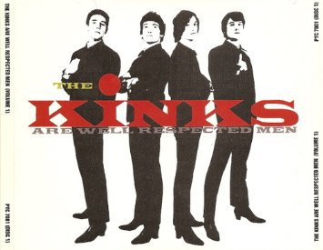 kinks - kinks are well respected men CD 2-discs 1987 PRT UK 37 tracks used mint