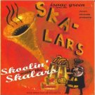 isaac green and skalars - skoolin' skalars CD 1996 moon ska 12 tracks used mint