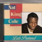 nat king cole - let's pretend CD 1989 highland music 7 tracks used mint