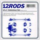 12 rods - split personalities CD 1998 V2 10 tracks used