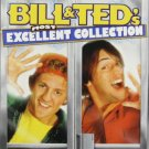 bill & ted's most excellent collection - keanu reeves 3-DVD set 2005 MGM used mint